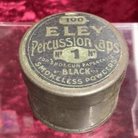 Eley Percussion Cap Tin