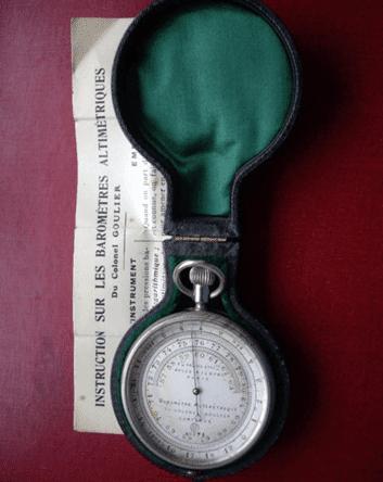 Colonel Goulier Pocket Barometer