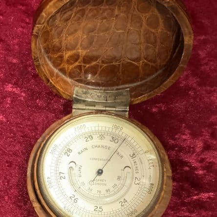 Asprey Pocket Barometer