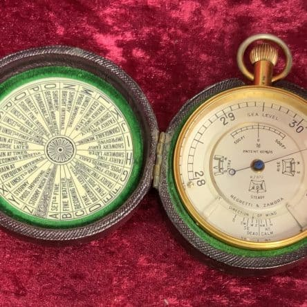 Negretti & Zambra Pocket Barometer