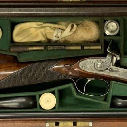 Cased .360″ Park Rifle by John Blissett of London