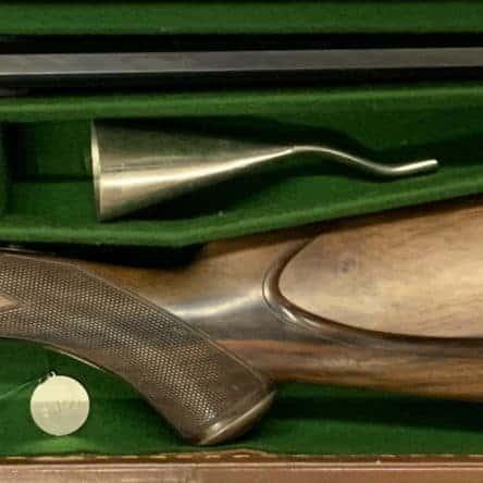 William Evans 297/250 Cased Rook Rifle
